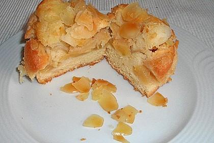 Apfelkuchen mit Schuss aus dem Glas 3