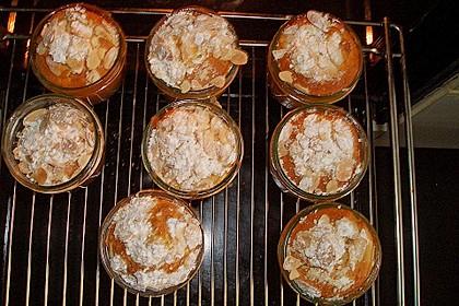 Apfelkuchen mit Schuss aus dem Glas 12