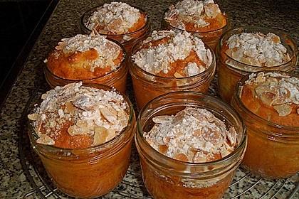 Apfelkuchen mit Schuss aus dem Glas 4