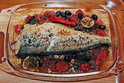 Gebackener  Fisch 8