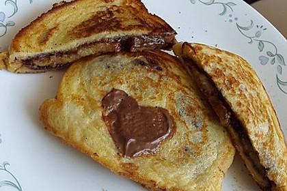Stuffed Chocolate French Toast 12