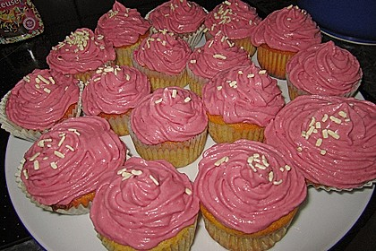 Strawberry Frosting für Cupcakes 13