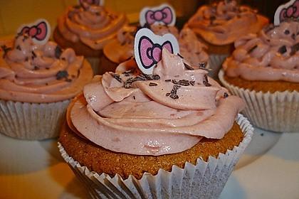 Strawberry Frosting für Cupcakes 10