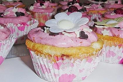Strawberry Frosting für Cupcakes 14
