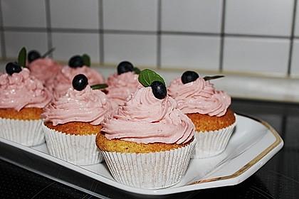 Strawberry Frosting für Cupcakes 1