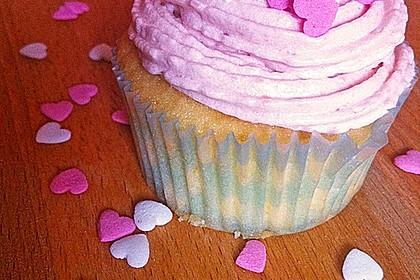 Strawberry Frosting für Cupcakes 4