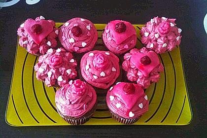 Strawberry Frosting für Cupcakes 18