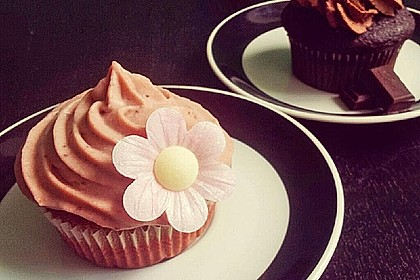 Strawberry Frosting für Cupcakes 3