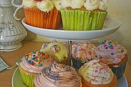 Strawberry Frosting für Cupcakes 32