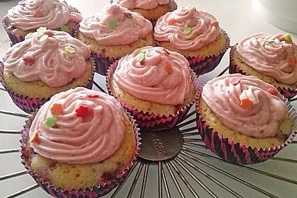 Strawberry Frosting für Cupcakes 12