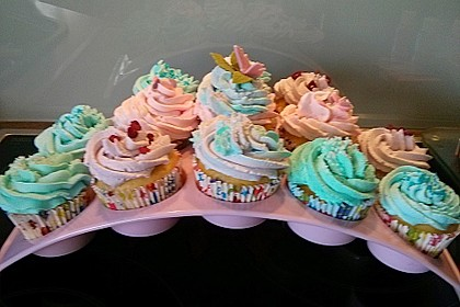 Strawberry Frosting für Cupcakes 7