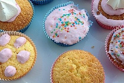 Strawberry Frosting für Cupcakes 24
