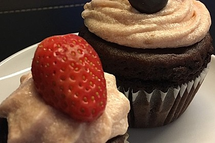 Strawberry Frosting für Cupcakes 8