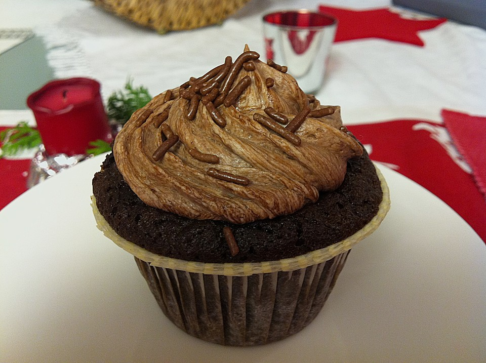Download image Double Chocolate Cream Cupcakes 4 PC, Android, iPhone ...