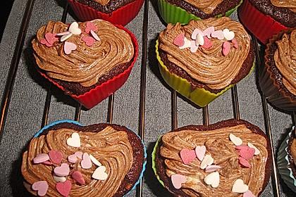 Double Chocolate Cream Cupcakes 18