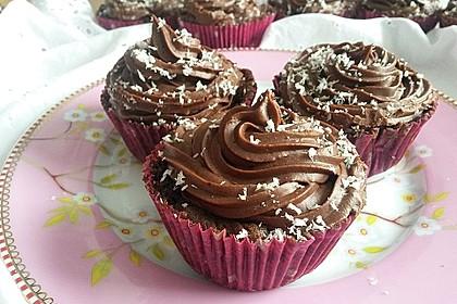 Double Chocolate Cream Cupcakes