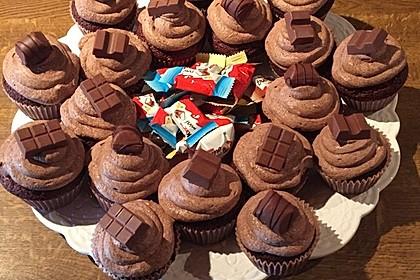 Double Chocolate Cream Cupcakes 1