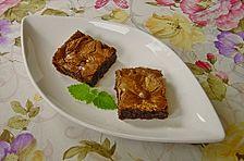 Brownies mit Erdnussbutter-Karamell