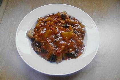 Afrikanischer Kochbananen-Champignon-Topf 4
