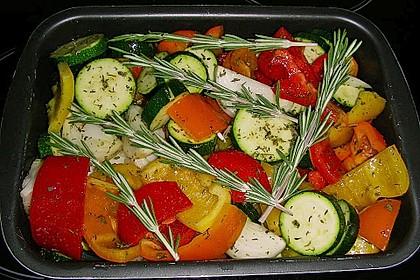 Gemüse zu gegrilltem 2