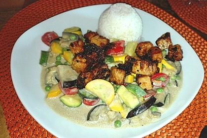 Tofu-Gemüse-Curry