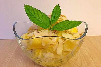 Fruchtsalat in gelb mit Ingwer 0