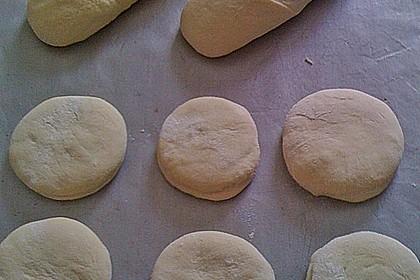 Selbst gemachtes Baguette mit Bruschetta 2