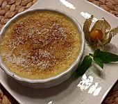 Crème brûlée ohne Milch und Sahne