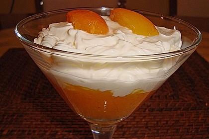 Aprikosenpüree mit Topfenhaube 7