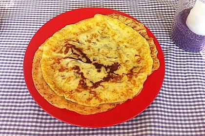 Eierkuchen bzw. Pfannkuchen 8