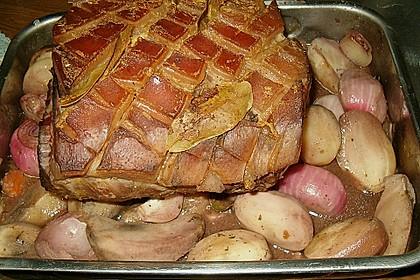 Schweinebraten mit Cidre  (Sidra) 2