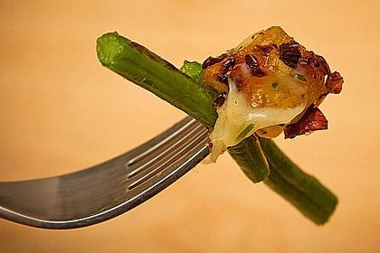 Würzige Kartoffel-grüne Bohnen Pfanne 2