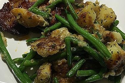 Würzige Kartoffel-grüne Bohnen Pfanne 32
