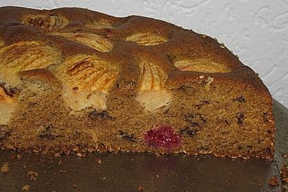 Rührkuchen mit Obst 1