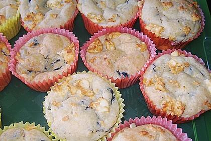 Olivenmuffins mit Schafskäse 0