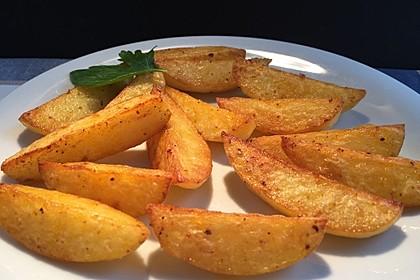 Kartoffelecken für den Grill