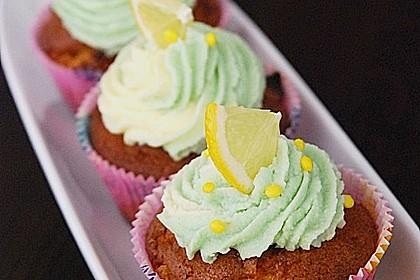 Zitronen-Cupcakes mit Creamcheese-Frosting 6