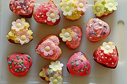 Zitronen-Cupcakes mit Creamcheese-Frosting 4