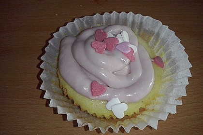 Zitronen-Cupcakes mit Creamcheese-Frosting 60