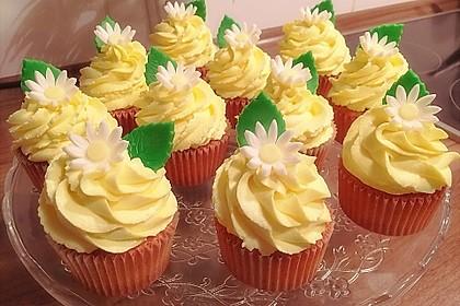 Zitronen-Cupcakes mit Creamcheese-Frosting 3