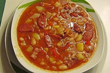 Serbische Bohnensuppe 8