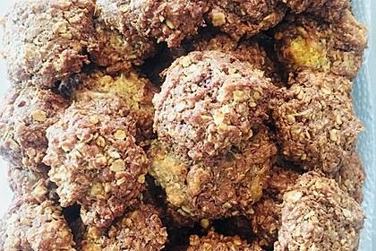 Haferflocken-Kokos Cookies mit Schokotropfen 2