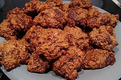 Haferflocken-Kokos Cookies mit Schokotropfen 7