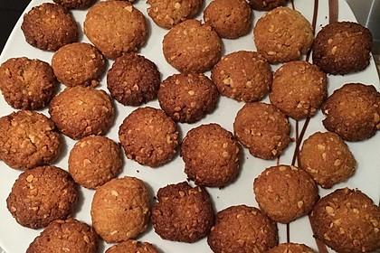 Haferflocken-Kokos Cookies mit Schokotropfen 13