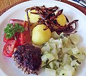 Kohlrabi-Gemüse mit heller Sauce