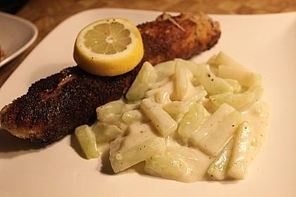 Kohlrabi-Gemüse mit heller Sauce 11