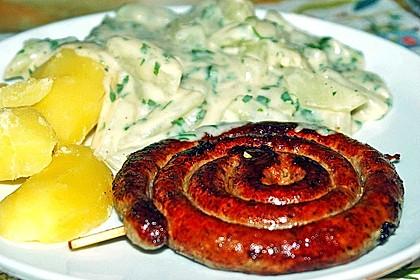 Kohlrabi-Gemüse mit heller Sauce 4