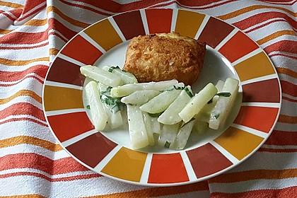 Kohlrabi-Gemüse mit heller Sauce 9