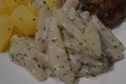 Kohlrabi-Gemüse mit heller Sauce 17