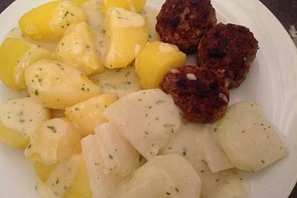 Kohlrabi-Gemüse mit heller Sauce 12